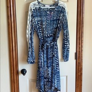 Adrienne summer dress. Boho with lace details